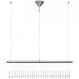 LED Pendelleuchte, LEDs / 12W Metall Chrom Kristallbehang aus Acryl