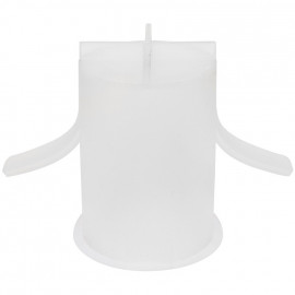 HV / NV Standardhalogenlampen Silikon Schutzkappe, Ø68 mm, Höhe 100 mm