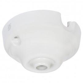 Deckenbaldachin, Porzellan, Ø 80 mm Atlantis Porzellan weiß
