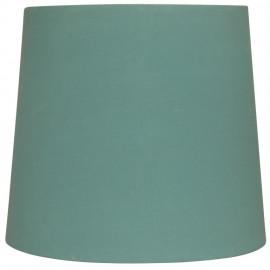 Leuchtenschirm, Textil türkis für E14 / E27 Fassungen Ø 170 mm, Höhe 150 mm