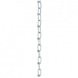 Knotenkette, Stahl verzinkt, Draht-Ø 2,5 mm Länge 30 Meter