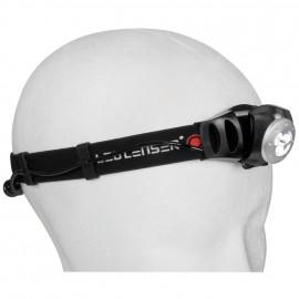 LED Stirnlampe H3, 3 LEDs Leuchtweite 31 m - Led Lenser