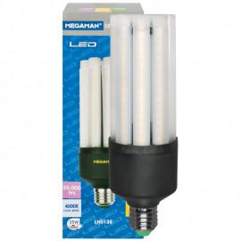 LED Lampe CLUSTERLITE, E27 / 35W, matt, 4000 lm, 4000K,  Megaman