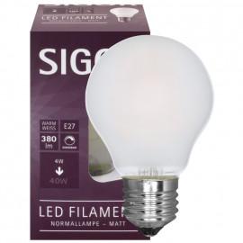LED Fadenlampe, AGL, E27 / 4W, matt, 360 lm, dimmbar, Sigor