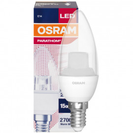 LED Lampe, Kerze, PARATHOM CLASSIC B, Kerze, E14 / 3,3W, klar, 250 lm, Osram