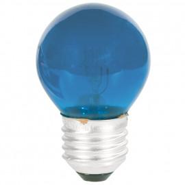 Tropfenlampe, E27 / 25W, Dekolampe Farbe blau