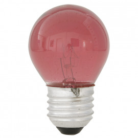 Tropfenlampe, E27 / 25W, Dekolampe Farbe rot