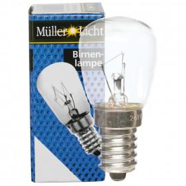 Kühlschranklampe, E14 / 25W, Birnenform, klar Müller Licht