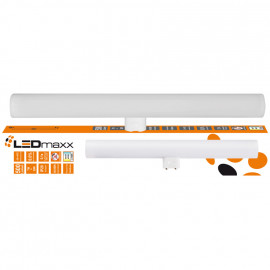 LED Lampe, Linie, S14d / 7W, 500 lm, 2700K, LEDmaxx