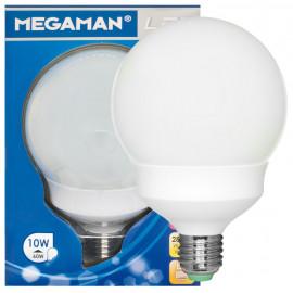 LED-Lampe, Globe, LED CLASSIC, E27 / 10W, 330°, 810 lm, 2800K, Länge 148mm, Ø 98mm, Megaman