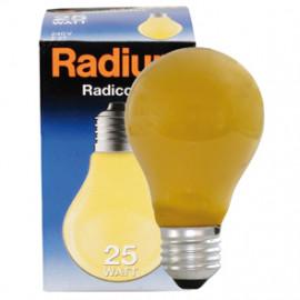 Allgebrauchslampen AGL, E27 / 11W, Dekolampe Farbe gelb Radium