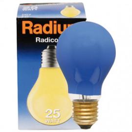 Allgebrauchslampen AGL, E27 / 11W, Dekolampe Farbe blau Radium