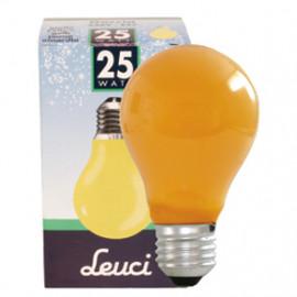 Allgebrauchslampen AGL, E27 / 25W, Dekolampe Farbe orange Leuci