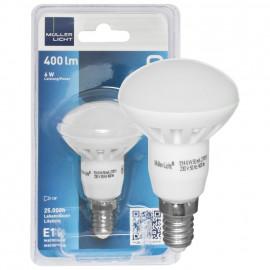 LED Lampe, Reflektor, R50, E14 / 6W, 430 lm, 105 cd, Müller Licht