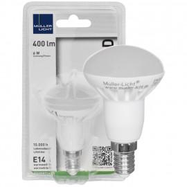 LED Lampe, Reflektor, R50, E14 / 6W, 400 lm, Müller Licht