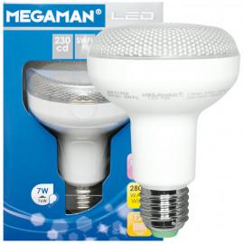 LED Lampe, Reflektor, E27 / 7W, 520 lm, 230cd, Megaman