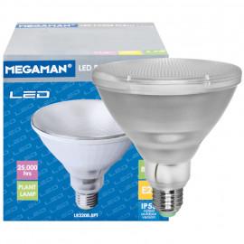 LED Lampe, Reflektor, E27 / 8,5W, 6000cd, Megaman