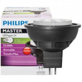 LED Lampe, Reflektor, MASTER LEDSpot, DimTone, GU5,3 / 6W, 370 lm, 2700K, Philips