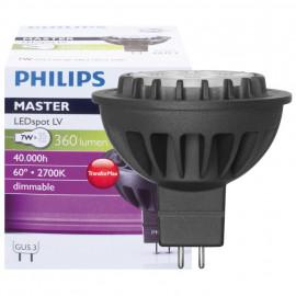 LED Lampe, Reflektor, MASTER LEDSpot, GU5,3 / 7W, 360 lm, 2700K, Philips