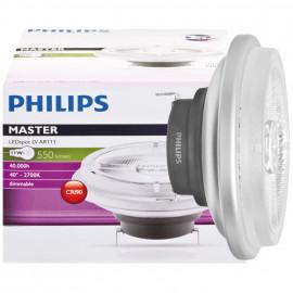 LED Lampe, Reflektor, MASTER LED AR111, G53 / 11W, 550 lm, 2700K, Philips