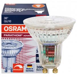 LED Lampe, GU10 / 5,5W, 350 lm, 3000K, Osram