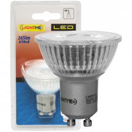 LED Lampe, Reflektor, GU10 / 3,6W, 265 lm, 3000K, Lightme