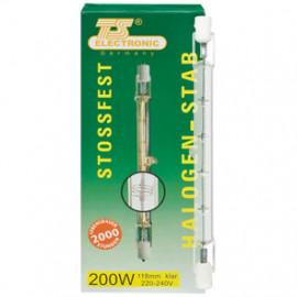 HV Reflektorlampe / Halogenlampe, R7s / 1500W, 31000 lm, Länge 254 mm, TS Electronic