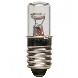 Glimmlampe mit Widerstand, 230V , 10 x 28mm