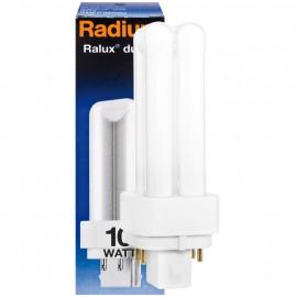 Lampe, Energiespar, RALUX DUO/E, G24q-1 / 10W, 600 lm, LF 840, Radium