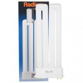 Lampe, Energiespar, RALUX TWIN, 2G10 / 18W, 1100 lm, LF 830, Radium
