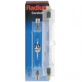 Halogenlampe, Metalldampf, RCC-TS, Rx7s / 70W, 6500 lm, NDL, Radium