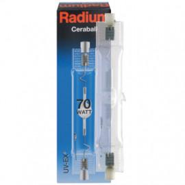 Halogenlampe, Metalldampf, RCC-TS, Rx7s / 70W, 6500 lm, WDL, Radium