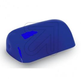 Lampen Ersatzglas - Bankersglas blau glänzend Länge 225mm Breite 130mm