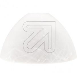 Lampen Ersatzglas - Leuchtenglas alabaster Loch Ø 29mm Ø 170mm Höhe 95mm