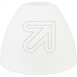 Lampen Ersatzglas - Leuchtenglas opal matt  Loch Ø 24mm Ø 86mm Höhe 65mm