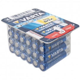 Batterie, HIGH ENERGY, Alkaline, Micro, LR03, AAA, 1,5V - Varta