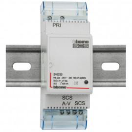 Netzgerät, AV-SCS, Typ 346030, 600 mA  bticino