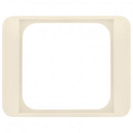 Adapterrahmen für Fremdgeräte 50 x 50 mm mit Zentralplatte, für B+J® alpha nea weiß