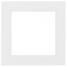 Adapterrahmen für Fremdgeräte mit 50 x 50 mm Zentralplatte für Gira® S-Color reinweiß