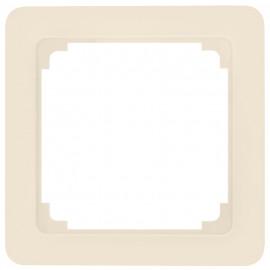 Adapterrahmen für Fremdgeräte mit 50 x 50 mm Zentralplatte für Jung® ST 550 weiß