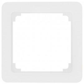 Adapterrahmen für Fremdgeräte mit 50 x 50 mm Zentralplatte für Jung® ST 550 reinweiß