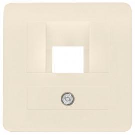 Zentralplatte für 1 fach UAE Steckdose, KLEIN SI® weiß