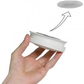 MAGNET-Befestigungsset für Rauchmelder, Sockel-Element, 2 x Ø 70