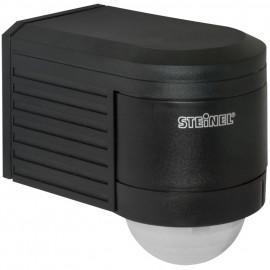 Bewegungsmelder, Aufputz IS300, IP54, schwarz, Erfassungswinkel 300° Steinel