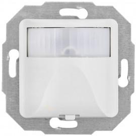 Bewegungsmelder Kombi, 40 - 400W, mit Zentralplatte 50 x 50 mm, reinweiß
