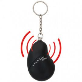 Taschen Alarmgerät, schwarz, 110dB mit Zugkette Smartwares