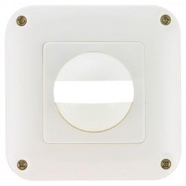Zentralplatte mit Rahmen für MD/PD 180 i/R, IP44, reinweiß (ähnlich RAL 9010) Esylux