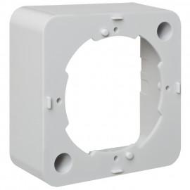 Aufputz Rahmen, reinweiß fürn Antennen -/ Lautsprecherdosen
