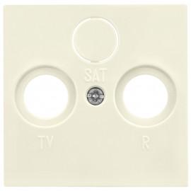 Schaltereinsatz Zentralplatte für TV / Radio / SAT Antennensteckdose SYSTEM 55