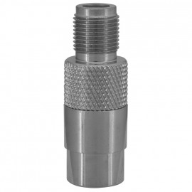 Premium Laboradapter, IEC Buchse / F Schraubbuchse Axing